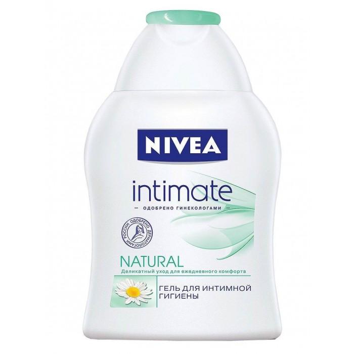 Косметика для мамы Nivea Гель Intimo Natural для интимной гигиены 250 мл косметика для мамы palmolive жидкое мыло для интимной гигиены intimo с экстрактом ромашки 300 мл