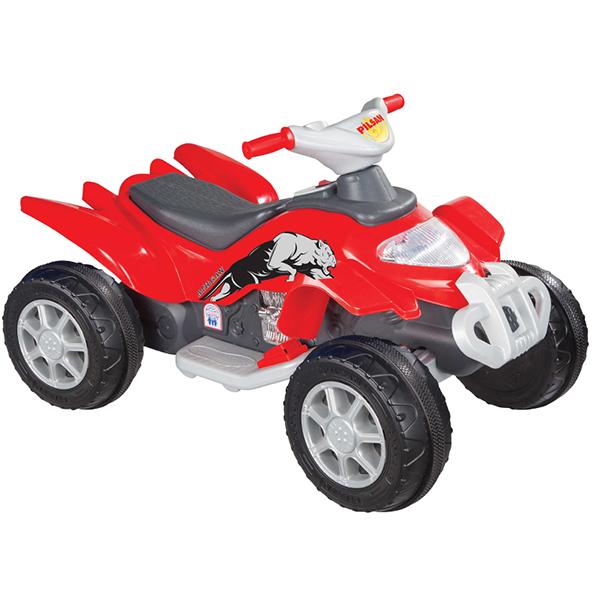 Электромобиль Pilsan AtilganAtilganУправляя этим автомобилем, Ваш ребенок с самого раннего детства приобретет навыки уверенного вождения. Ведь это фактически настоящий автомобиль, только маленький и безопасный.   Музыкальный руль (6 мелодий) Аккумулятор 6V 12Ah Умная система ключей (с подсветкой)  Колеса с бесшумным покрытием Кнопка Вперед/Назад Удобное сидение Двигатель 1X6V с задним расположением  Для детей от 3-8 лет  Контрольная панель приборов  Наличие плавкого предохранителя Педали газ и тормоз  Передние фары  Максимальная скорость 3.5 км/ч Максимальная грузоподъемность 35 кг  Цвета в ассортименте.   Размер машинки - 61х98х59 см.  Компания Pilsan начала свою историю в 1942 году. Сегодня – это компания-гигант индустрии крупногабаритных детских игрушек, которая экспортирует свою продукцию в 57 стран мира. Компанией выпускается 146 наименований продукции – аккумуляторные и педальные автомобили, велосипеды, развивающие игрушки и аксессуары для детей. Вся продукция Pilsan сертифицирована и отвечает международным стандартам качества.<br>