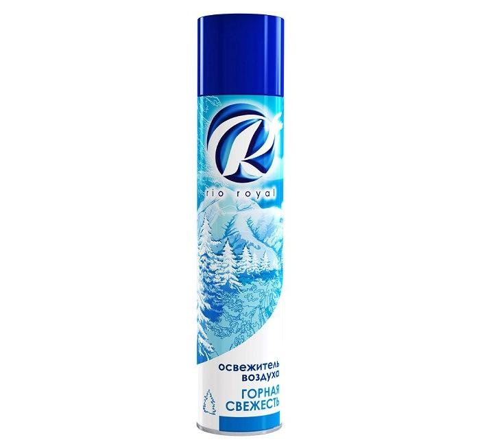 Бытовая химия Chirton Освежитель воздуха Rio Горная свежесть 300 мл chirton освежитель воздуха спа релаксация 300мл