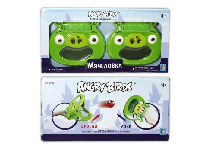 Игровые наборы 1 Toy Игровой набор Angry Birds Мячеловка Свинья 20 см игровой набор angry birds telepods сражение
