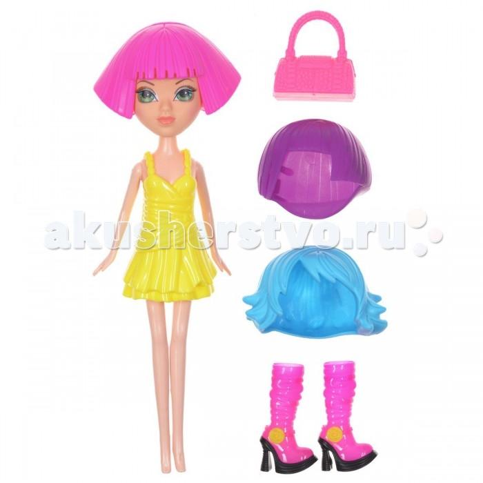 Куклы и одежда для кукол 1 Toy Кукла Красотка фэшн с аксессуарами 24 см T57129 1 toy кукольный домик красотка колокольчик с мебелью 29 деталей