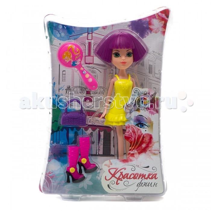 Куклы и одежда для кукол 1 Toy Кукла Красотка фэшн с аксессуарами 24 см игровой набор jada кьюти попс фэшн бьянка с аксессуарами
