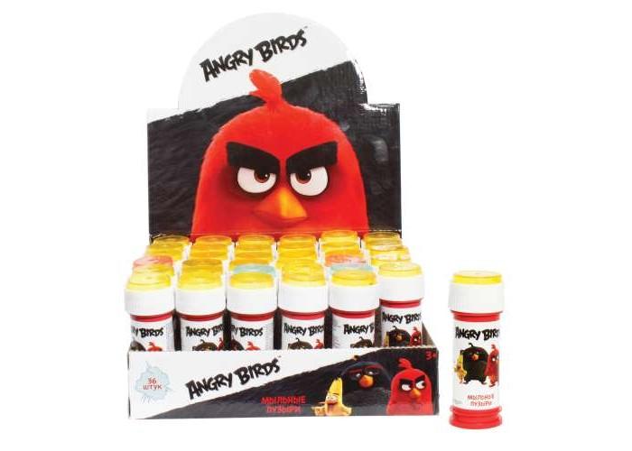 Мыльные пузыри 1 Toy Мыльные пузыри Angry Birds 50 мл мыльные пузыри формула 1 60 мл