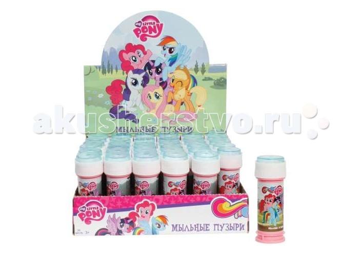 Мыльные пузыри 1 Toy Мыльные пузыри My Little Pony 50 мл мыльные пузыри my little pony 60 мл