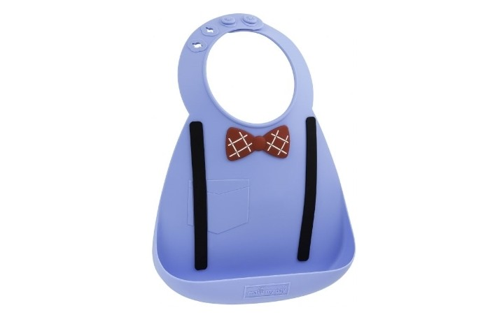 Нагрудники Make my day Baby Bib Scholar Blue