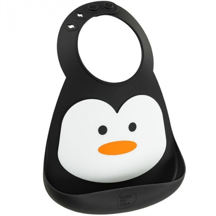 Нагрудник Make my day Baby Bib Penguin