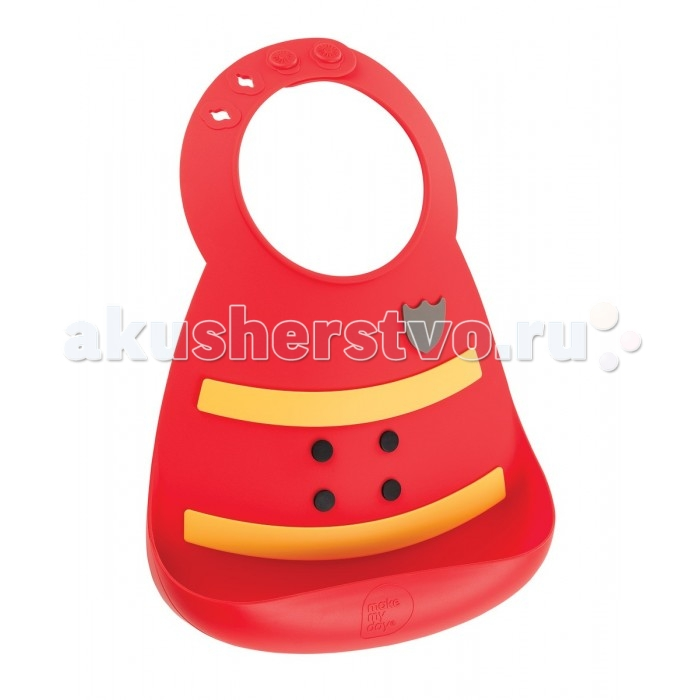 Нагрудник Make my day Baby Bib Fireman