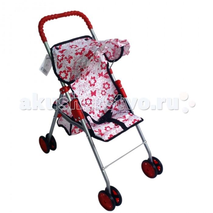 Коляски для кукол 1 Toy Прогулочная Красотка коляски для кукол 1 toy с люлькой красотка