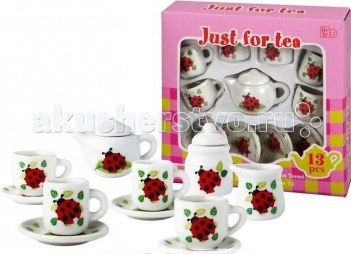 Ролевые игры 1 Toy Я сама Чайный сервиз Божьи Коровки 13 предметов ролевые игры alex чайный сервиз поймай бабочку 13 предметов