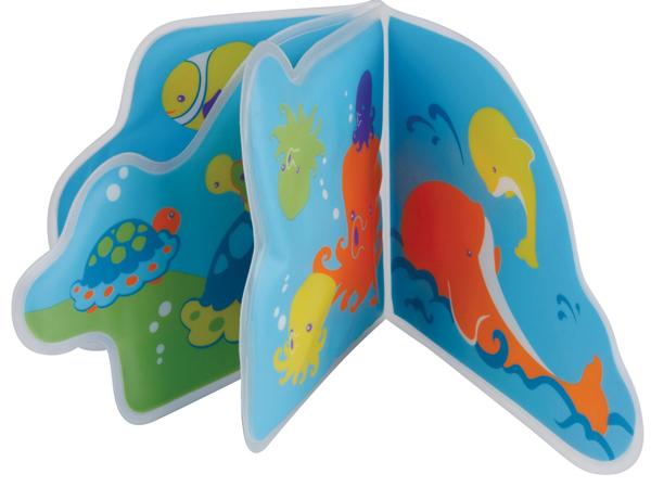 Игрушки для ванны Мир детства Книжка-пищалка для ванной Подводное путешествие