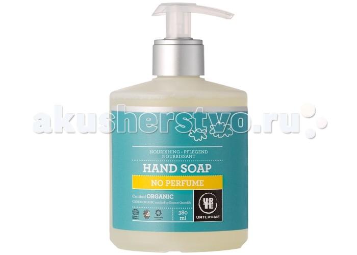 Косметика для мамы Urtekram Жидкое мыло без аромата 380 мл мыло жидкое mon platin мыло жидкое ароматическое
