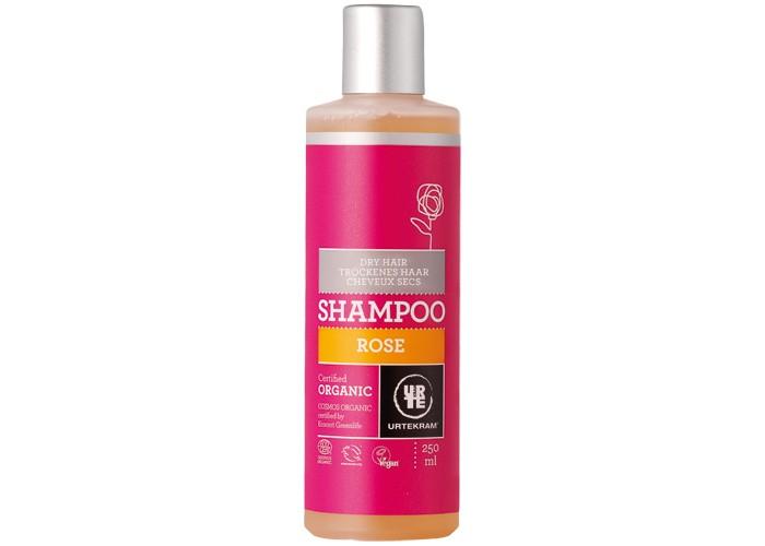 Косметика для мамы Urtekram Шампунь для сухих волос Роза 250 мл l angelica 0898 шампунь питательный для сухих волос 250 мл