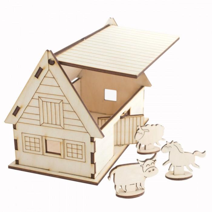 Конструкторы Model Toys Ферма деревянный city series marriage wedding room model building block toys compatible legoe enlighten 1129 613pcs diy gifts for children
