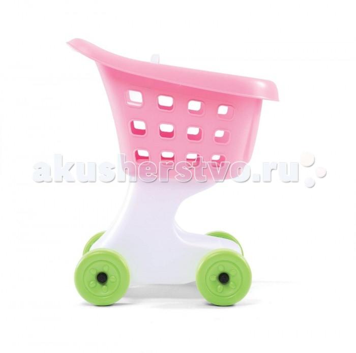Step 2 Повозка для игрушекПовозка для игрушекПовозка для игрушек:  - невысокая, широкая повозка с удобной ручкой;  - прочные, большие колеса для безопасного катания; - сиденье для любимых игрушек; - внизу небольшая полочка для мелочей; - поставляется в собранном виде.<br>