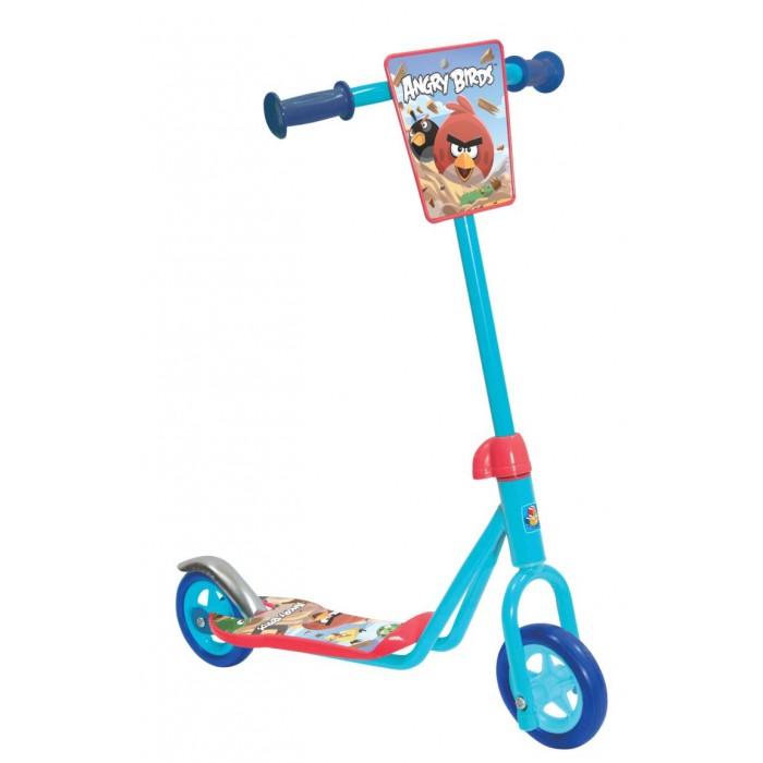 Двухколесный самокат 1 Toy Angry birds детскийAngry birds детский1 Toy Angry birds Двухколесный детский самокат- это яркое транспортное средство с изображениями всем известных Злых Птичек. Рассекать по улице на этом двухколесном самокате может уже 3-летний ребенок. Езда на самокате Энгри Бердз отлично потренирует вестибулярный аппарат, разовьет чувство баланса, а также доставит незабываемое удовольствие.  Возраст: от 3 лет Цвет: голубой Состав: сталь, пластмасса Размер самоката: 52 х 12 х 63 см Вес: 1.9 кг Материал рамы: нержавеющая сталь Оформление руля: щиток с изображением Angry Birds Тормоз: ножной Амортизаторы: отсутствуют Колеса: EVA Количество колес: 2 Диаметр колес: 11 см.<br>