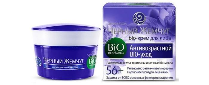 Косметика для мамы Черный жемчуг Крем для лица 56+ Bio-программа 50 мл черный жемчуг для лица ночной bio программа bio восстановление 50 мл