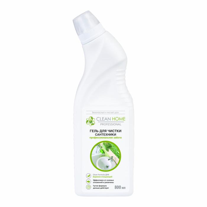 Бытовая химия Clean Home Гель для чистки сантехники 800 мл бытовая химия санокс гель для чистки сантехнических изделий вишневый сад 750 мл