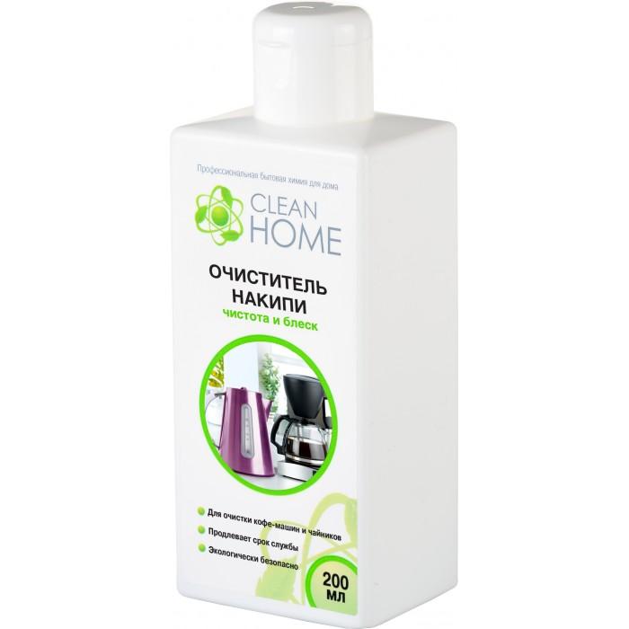 Бытовая химия Clean Home Очиститель накипи чистота и блеск 200 мл бытовая химия clean home гель для уборки акриловых поверхностей 800 мл