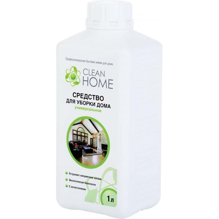 Бытовая химия Clean Home Средство для уборки дома 1000 мл пробиотики для уборки дома