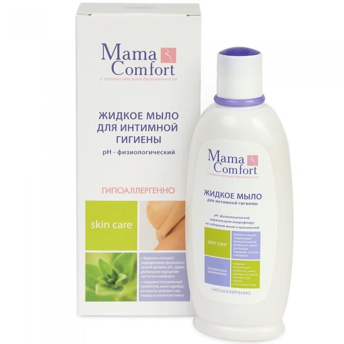 Косметика для мамы Mama Comfort Жидкое интимное мыло 250 мл косметика для мамы palmolive жидкое мыло для интимной гигиены intimo с экстрактом ромашки 300 мл