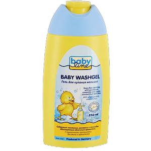 Косметика для новорожденных Babyline Гель для купания 250 мл косметика и аксессуары