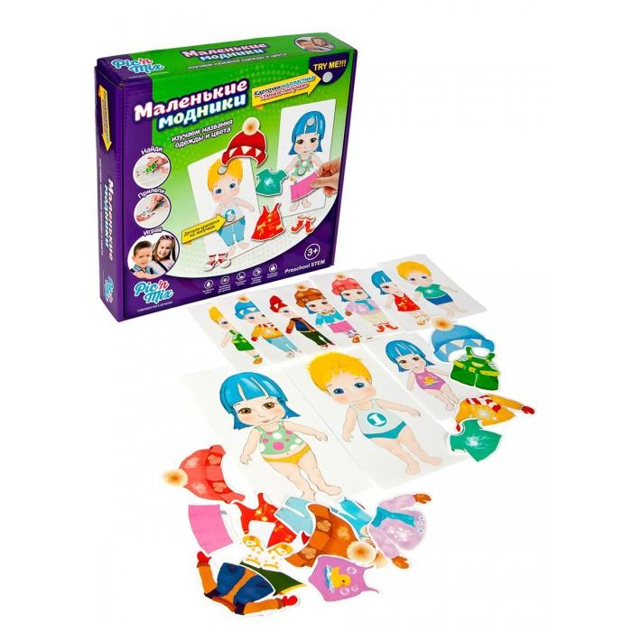 Игры для малышей Pic`n Mix Игра настольная развивающая Маленькие модники игровые наборы магнитарий магнитный набор 3 маленькие модники агния