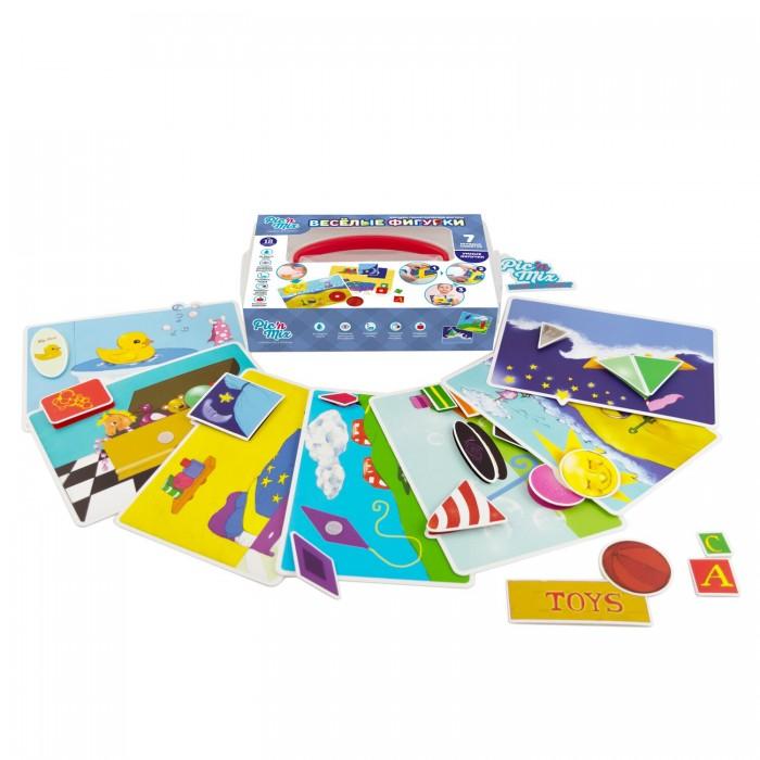 Игры для малышей Pic`n Mix Игра настольная развивающая Веселые фигурки pic n mix обучающая игра пазл липучка веселая ферма