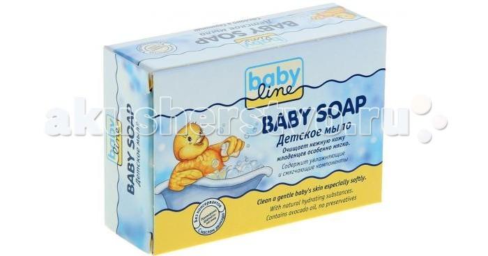 Косметика для новорожденных Babyline Детское мыло 100 г косметика для новорожденных babyline детское жидкое мыло 250 мл