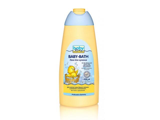 Косметика для новорожденных Babyline Пена для купания  500 мл пена монтажная мakroflex shaketec стандартная 750 мл