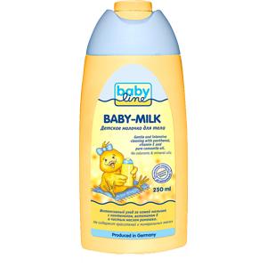 Косметика для новорожденных Babyline Детское молочко для тела 250 мл мерцающее молочко для тела миндальное дерево 250 мл