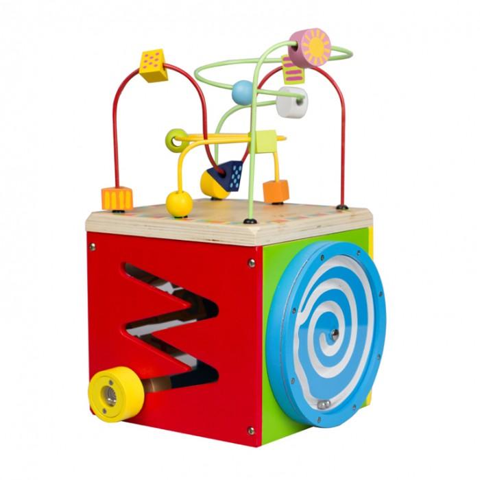 Деревянная игрушка Classic World Лабиринт многофункциональный Куб