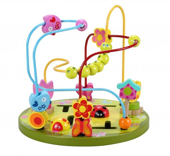 Деревянные игрушки Classic World Лабиринт Цветочные горки classic world классический самолет 27 деталей
