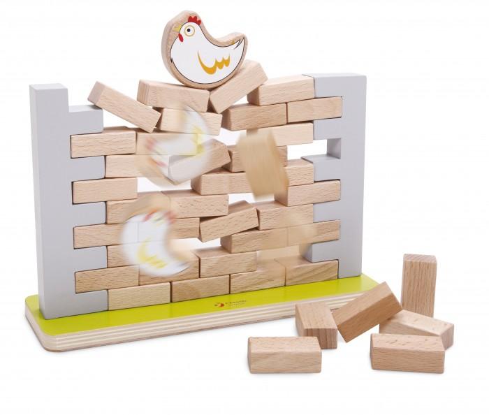 Деревянные игрушки Classic World Игра Стена бусины и горки classic world