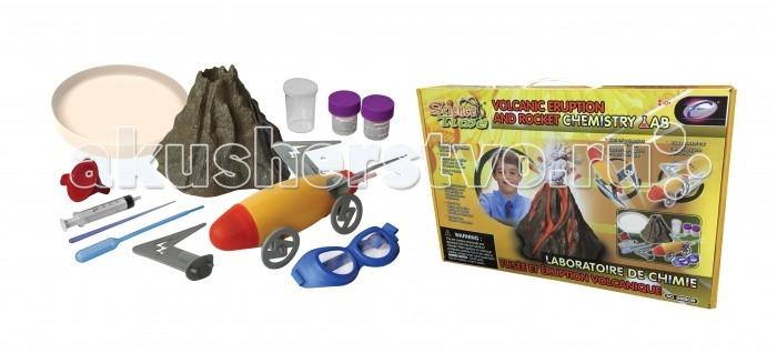 Наборы для творчества Eastcolight Детский набор химика Ракета и Вулкан наглядное пособие eastcolight скелет человека
