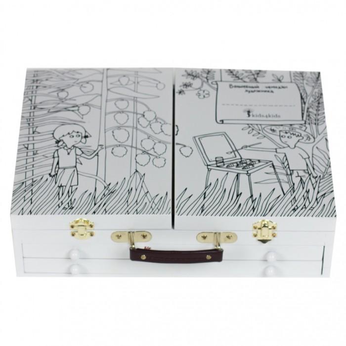 Развитие и школа , Принадлежности для рисования Kids4kids Набор для творчества Волшебный чемодан художника арт: 164732 -  Принадлежности для рисования