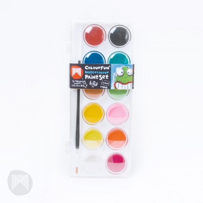 Краски Micador Стильные акварельные краски 12 цветов краски herlitz краски акварельные 6 цветов