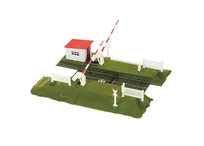 Железные дороги Mehano Шлагбаум Механо игрушка mehano 1 f101 набор рельс