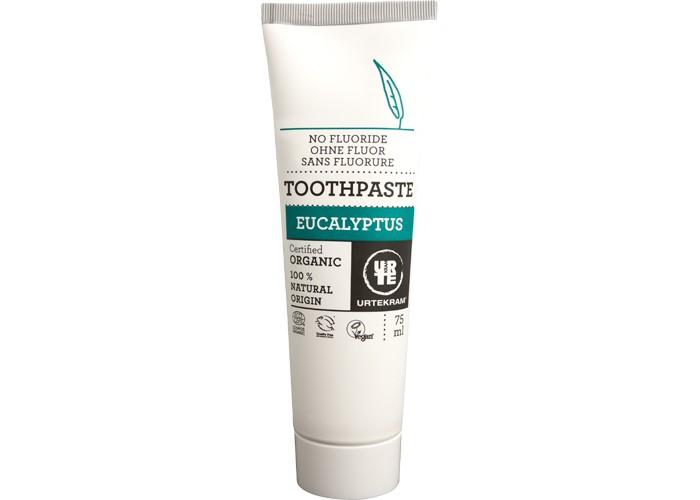 Гигиена полости рта Urtekram Зубная паста Эвкалипт 75 мл паста флитз купить в балашихе