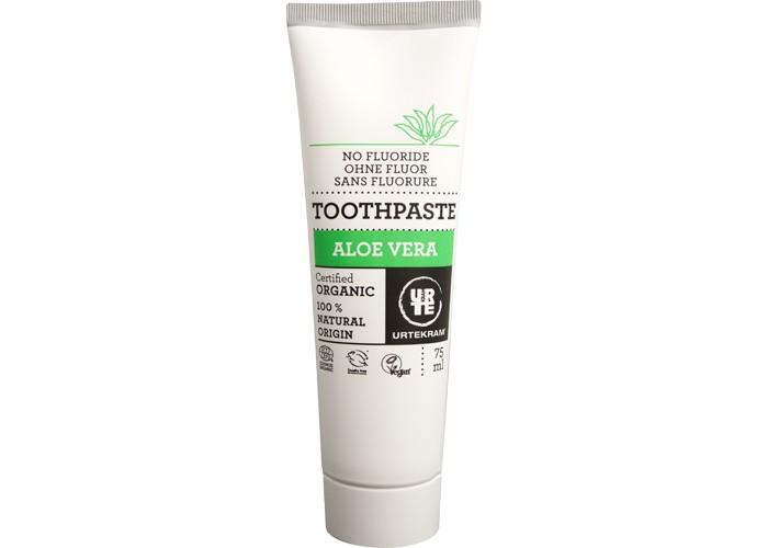 Гигиена полости рта Urtekram Зубная паста Алоэ Вера 75 мл паста лассара салицилово цинковая в омске