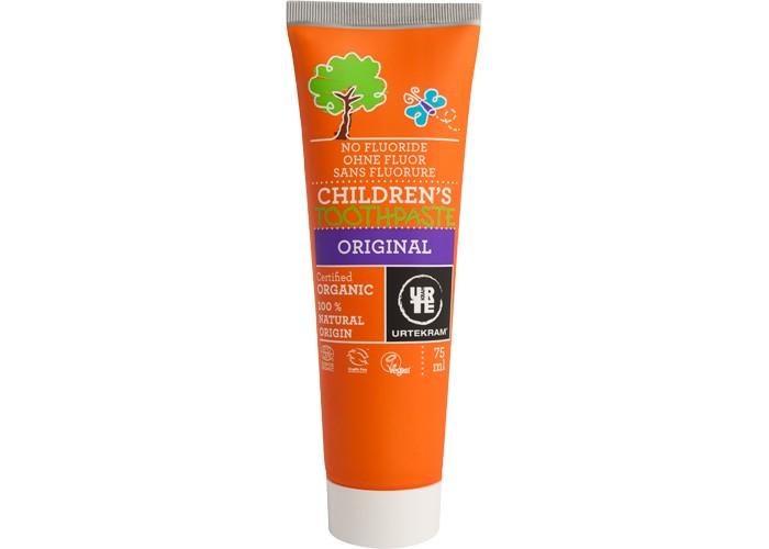 Гигиена полости рта Urtekram Детская органическая зубная паста 75 мл гигиена полости рта logona logodent травяная гелевая зубная паста с мятой 75 мл
