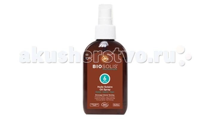 Солнцезащитные средства Biosolis Солнцезащитное масло для лица и тела SPF 6 125 мл солнцезащитные средства biosolis молочко для тела после загара 150 мл