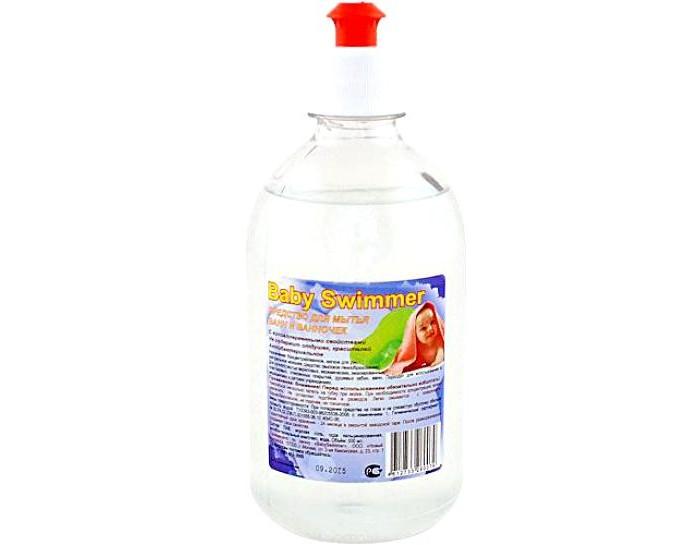 Детские моющие средства Baby Swimmer Жидкое средство для мытья ванночек 500 мл