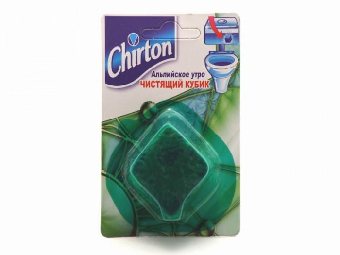 Бытовая химия Chirton Чистящий кубик для унитаза Альпийское Утро бытовая химия туалетный утенок подвеска для унитаза жидкий морской 55 мл