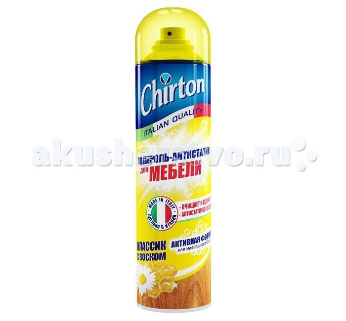 Бытовая химия Chirton Полироль - антистатик для мебели Классик с Воском 500 мл beauty image баночка с воском с маслом оливы 800гр
