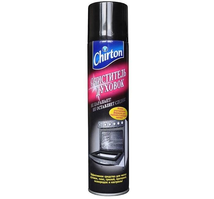 Бытовая химия Chirton Очиститель духовок 300 мл очиститель flat для плит духовок свч с ароматом апельсина 480 г