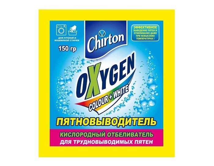 Бытовая химия Chirton Кислородный отбеливатель-пятновыводитель Oxygen Color+White 150 г