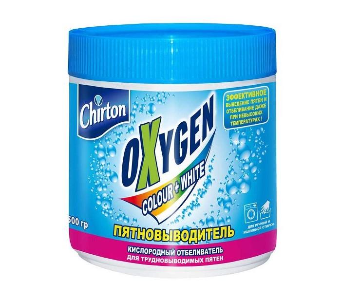 Бытовая химия Chirton Кислородный отбеливатель-пятновыводитель Oxygen Color+White 500 г
