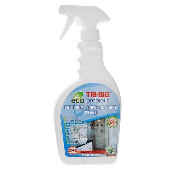 Бытовая химия Tri-Bio Биосредство для ванных комнат и туалетов 420 мл биосредство для мытья посуды tri bio