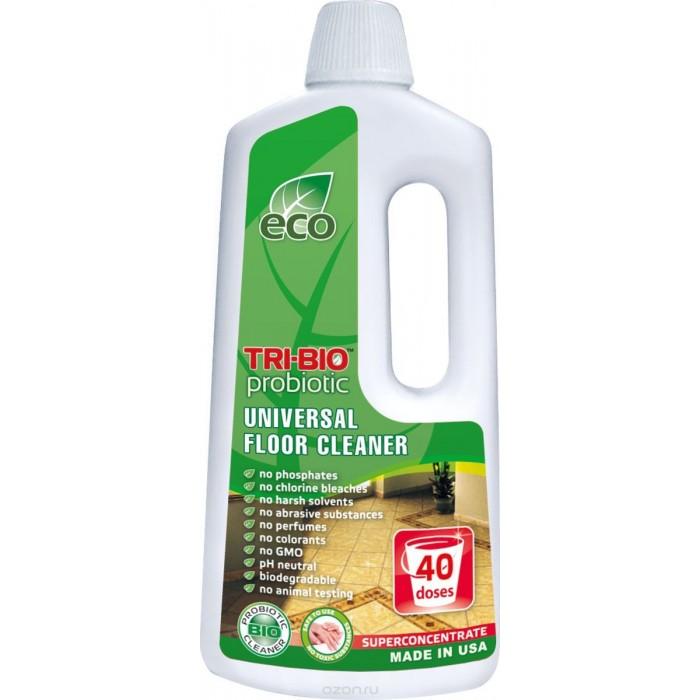 Бытовая химия Tri-Bio Биосредство для мытья полов 890 мл биосредство для мытья полов tri bio 4 4 л