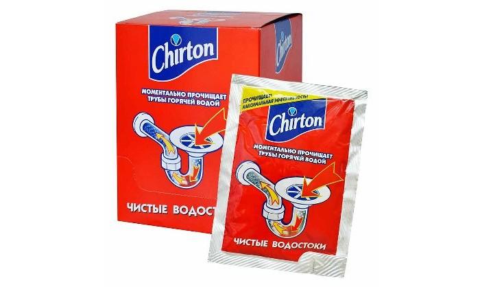 Бытовая химия Chirton Средство для прочистки труб горячей водой инструмент для прочистки труб со стальным сердечником 7 6 м truper deca 25x 12280